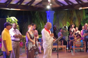 Dr. Pierre Saint-Luce, Vernissage PooL Art Fair Guadeloupe
